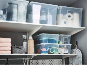 Bacs de rangement avec le Home Organizing