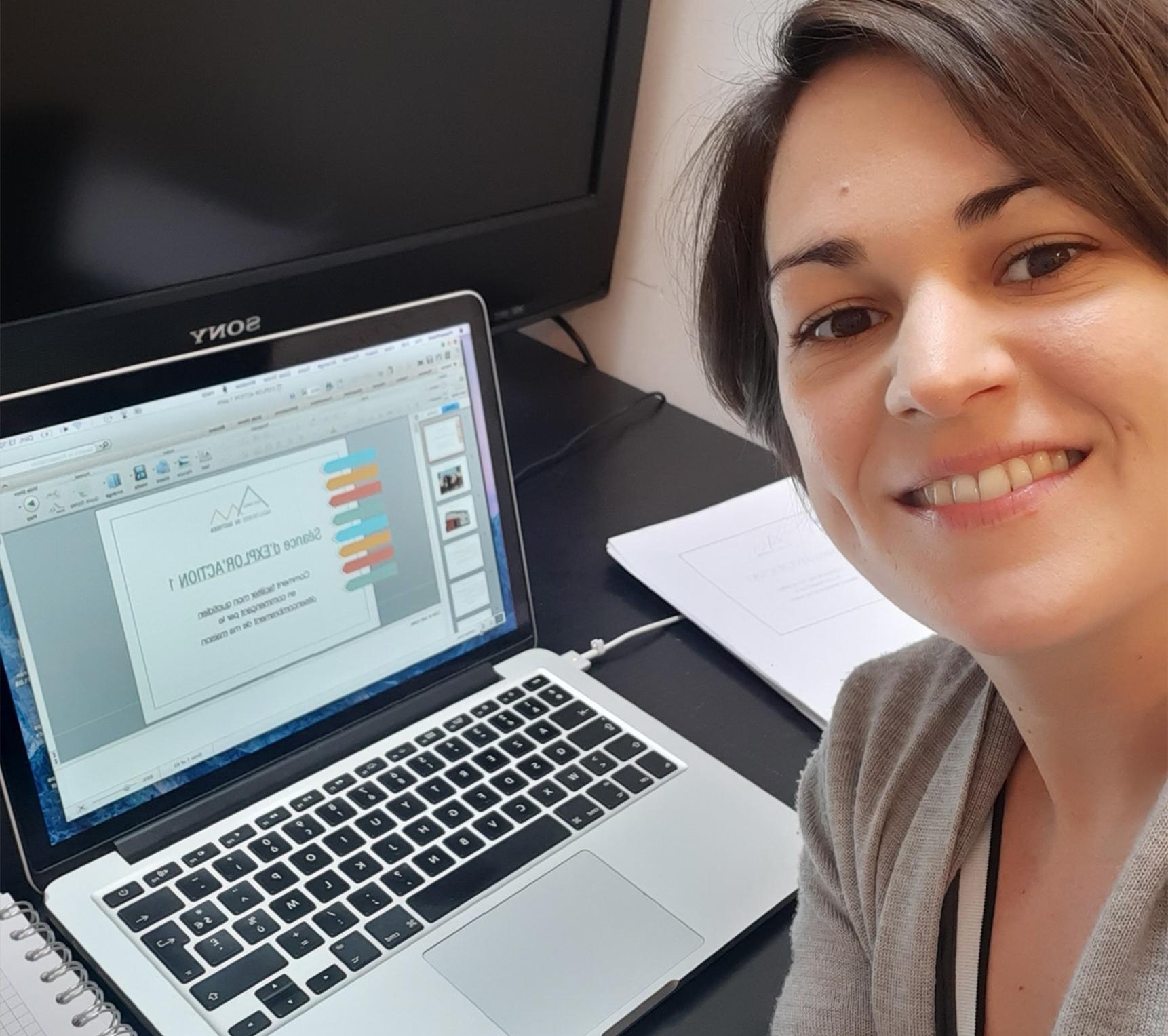 Atelier en ligne home organizing Explor'Action facilitatrice